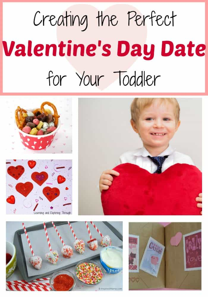 Creating the perfect Valentines Day date with your toddler! Love these ideas!