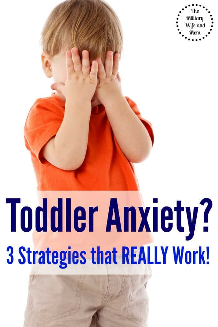 Toddler anxiety with doctor visits, daycare dropoff, moving, new baby? Try these simple tips! Worked wonders for us!