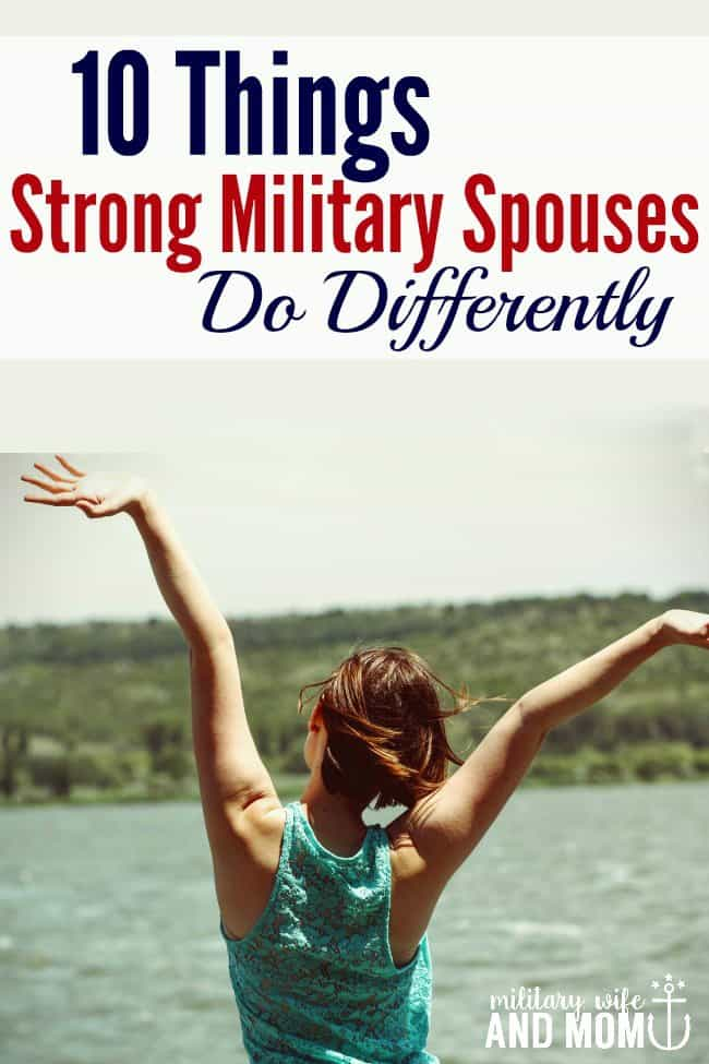 Are you a strong military spouse?