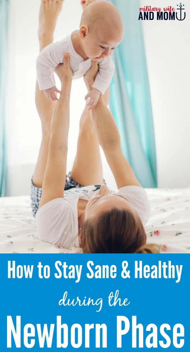 Such practical advice about surviving the newborn phase!