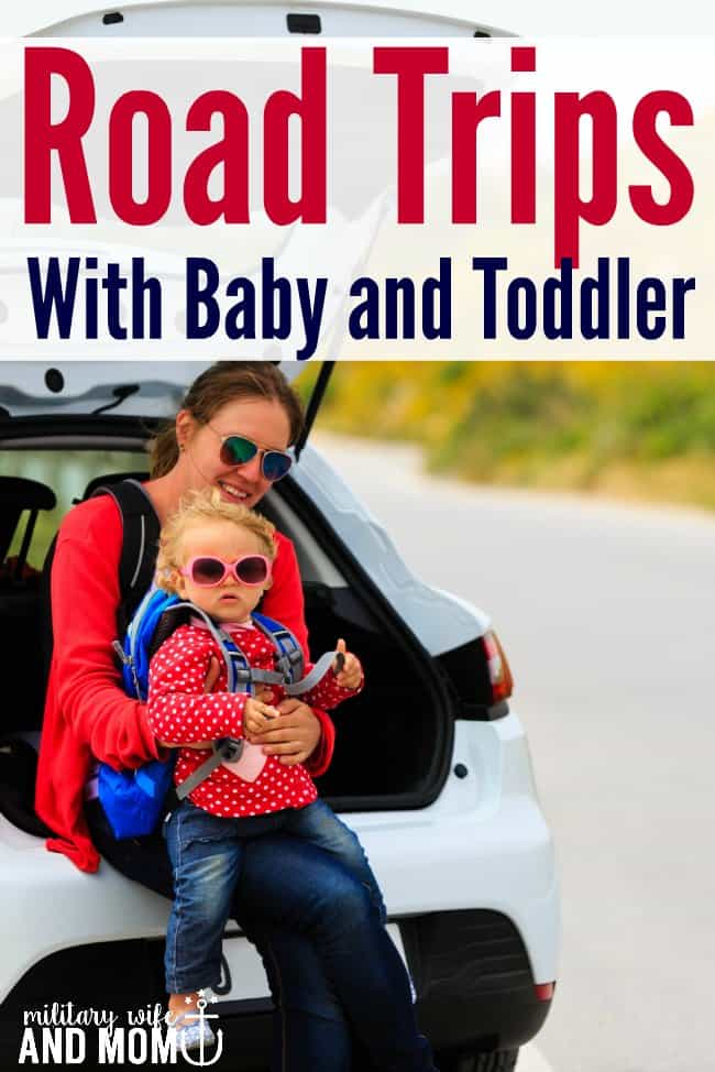 LOVE these quick and easy tips for surviving road trips with a baby and toddler!