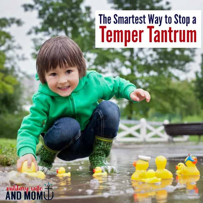 Struggling with tantrums? Try this tip. Parenting toddlers. Parenting preschoolers.