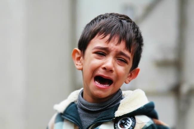 temper tantrum child