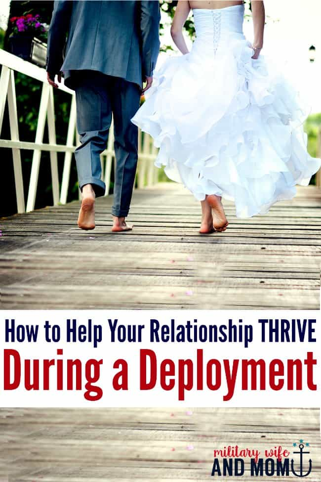 10 amazing ways to keep a strong relationship during deployment. Military spouse   Military wife   Military girlfriend   Military family   Military Deployment