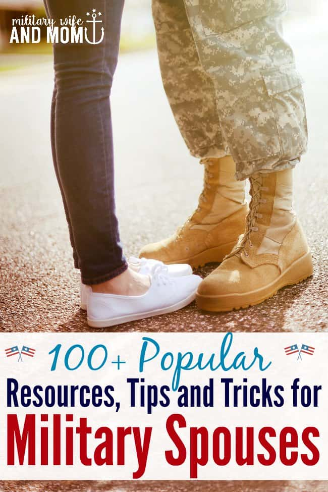 Great list of military spouse resources | Military wife | Military girlfriend | Military significant other | Military Family
