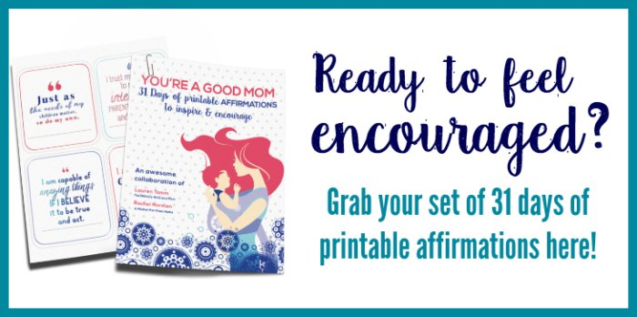 Printable positive affirmation cards for moms who need encouragement and inspiration