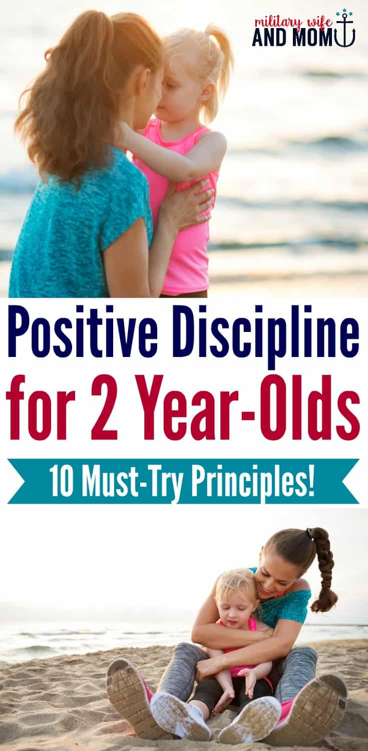 How to discipline a 2 year-old using seven key principles. Easy-to-implement, these positive discipline tips can transform your house from chaos to peace.