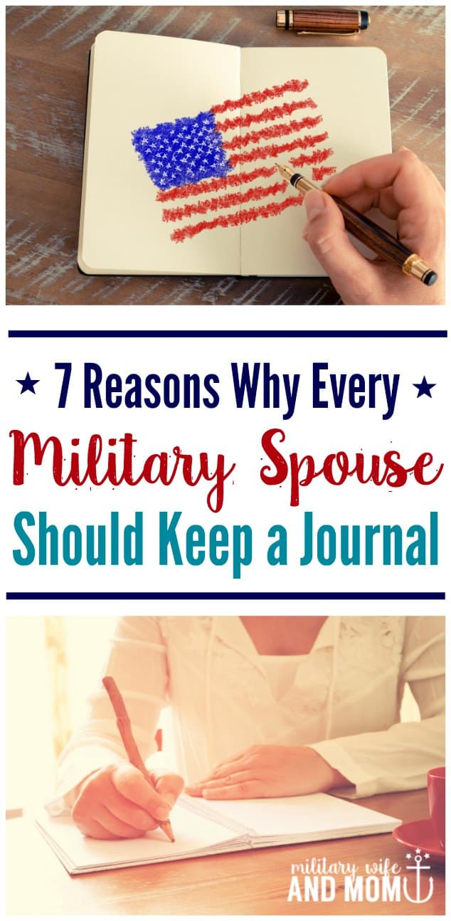 Military spouse journals are so important. There is a ton of scientific research to back up this practice! Here's how...
