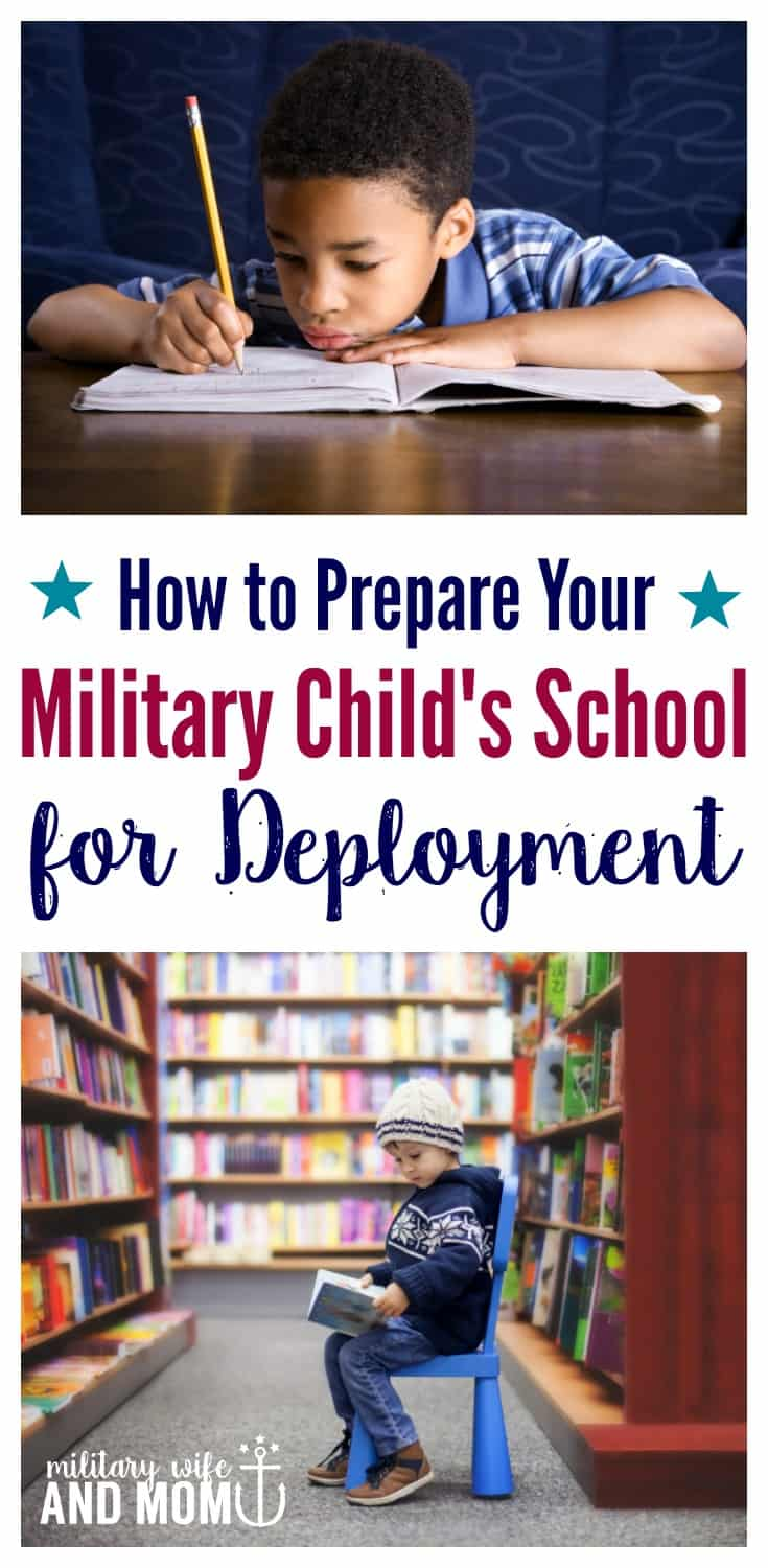 Learn 4 simple strategies (from a military spouse and teacher) that will help prepare your child's school for deployment, improve coping and get support.